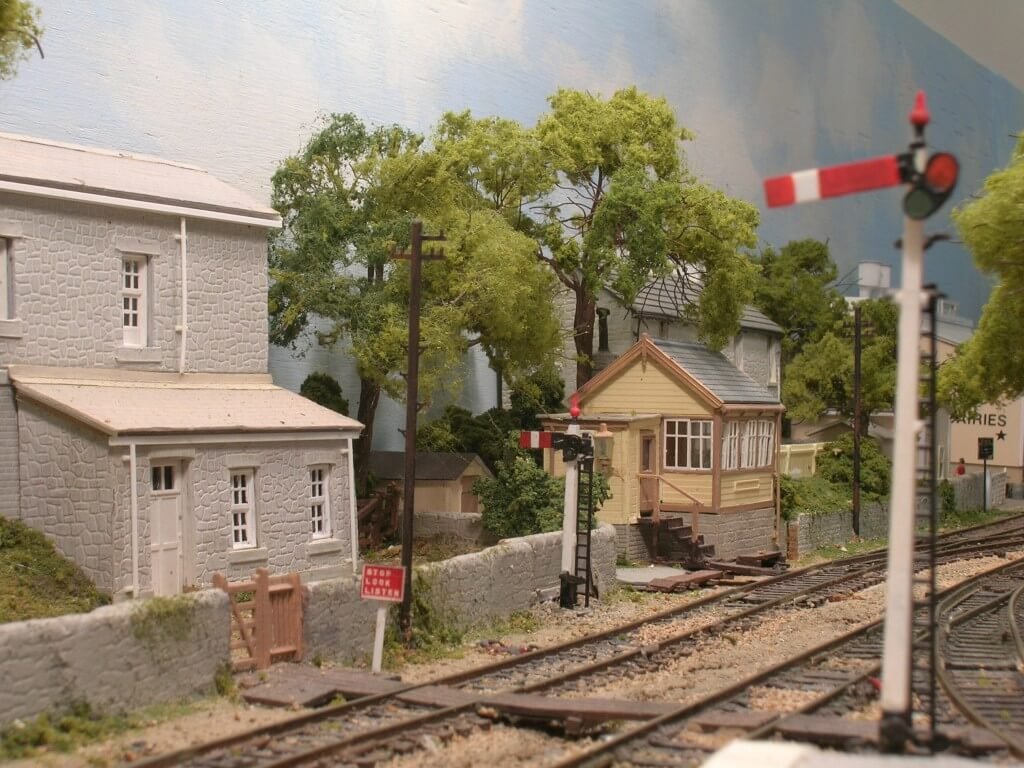 Hintock Branch GWR Model Railroad Signal Box