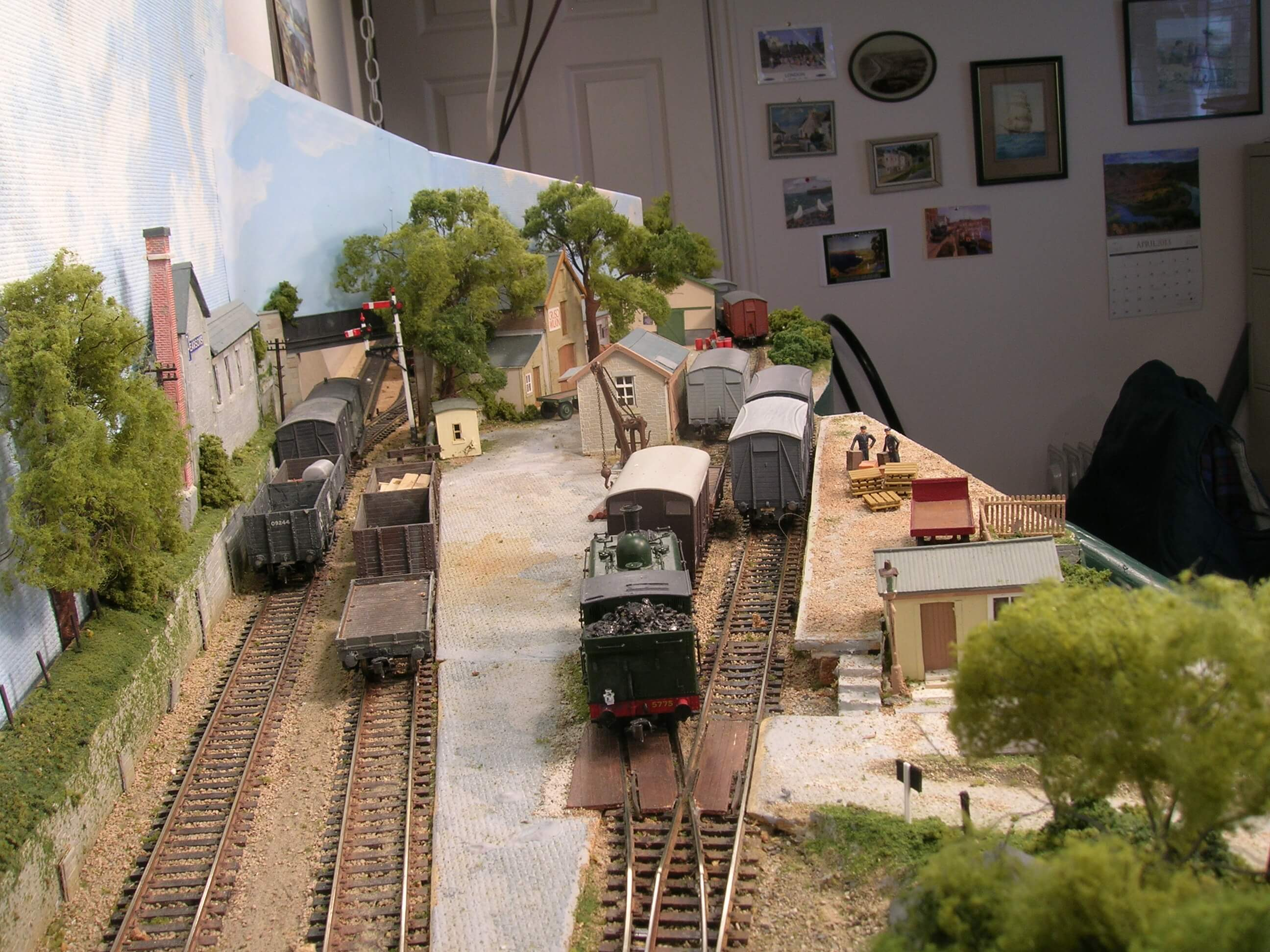 Hintock Traffic Amp Trains Part Two Model Railway Freight