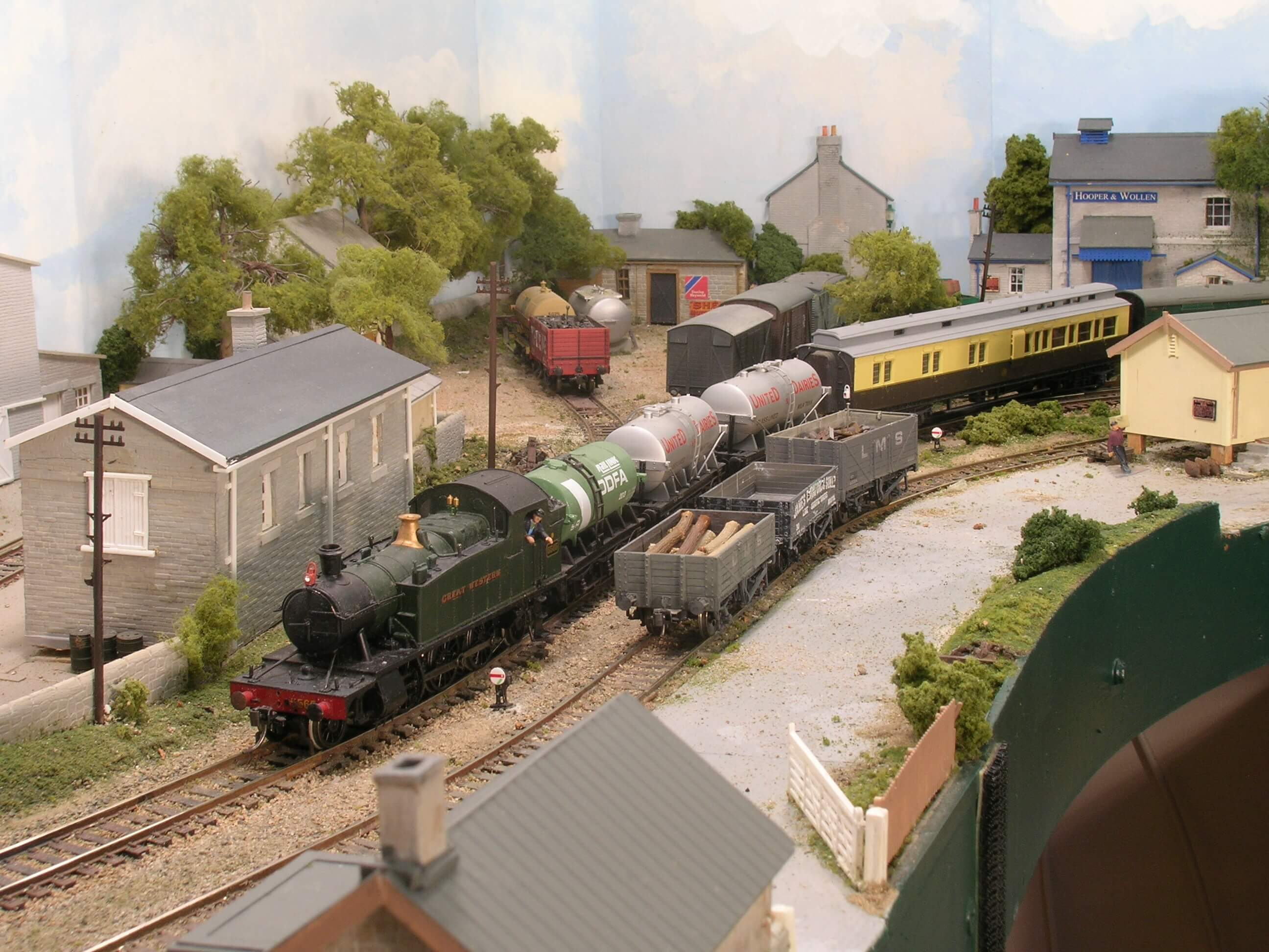 Hintock Branch - John Flann's OO Scale Model Railway