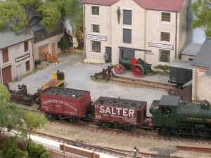 JF 171 Shunting a model railway, John Hampton's coal siding
