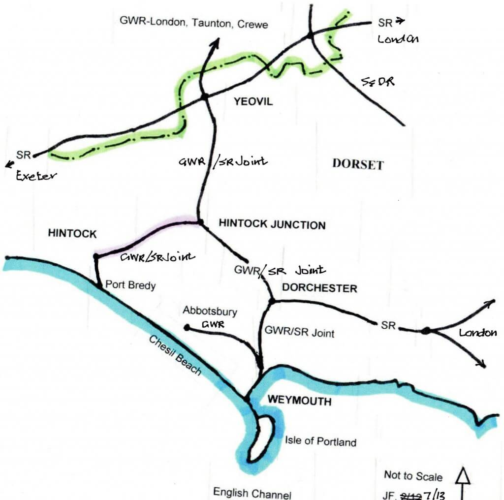 Hintock Junction Map