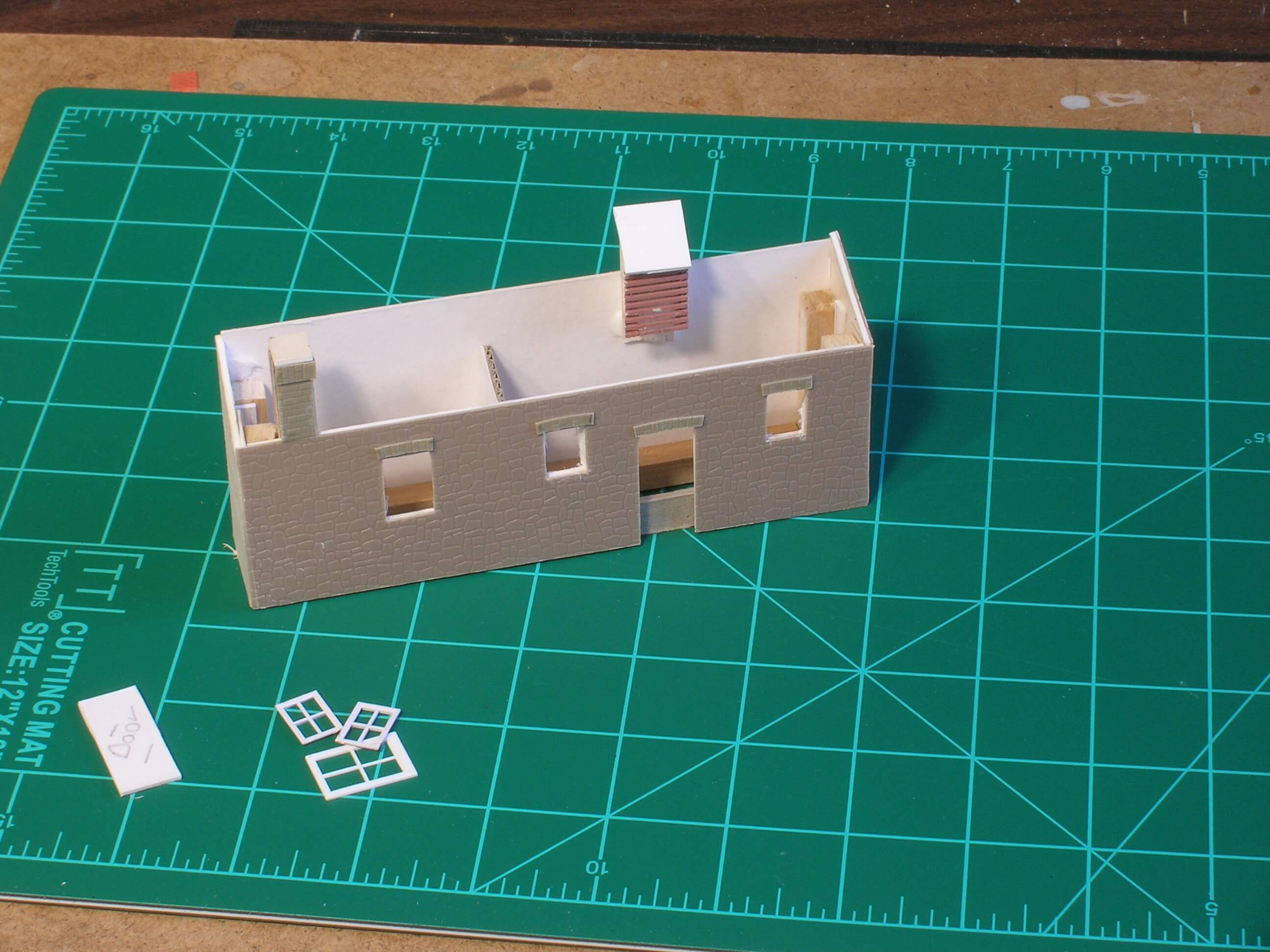 Hintock Construction Part Three - Scratch Building Model