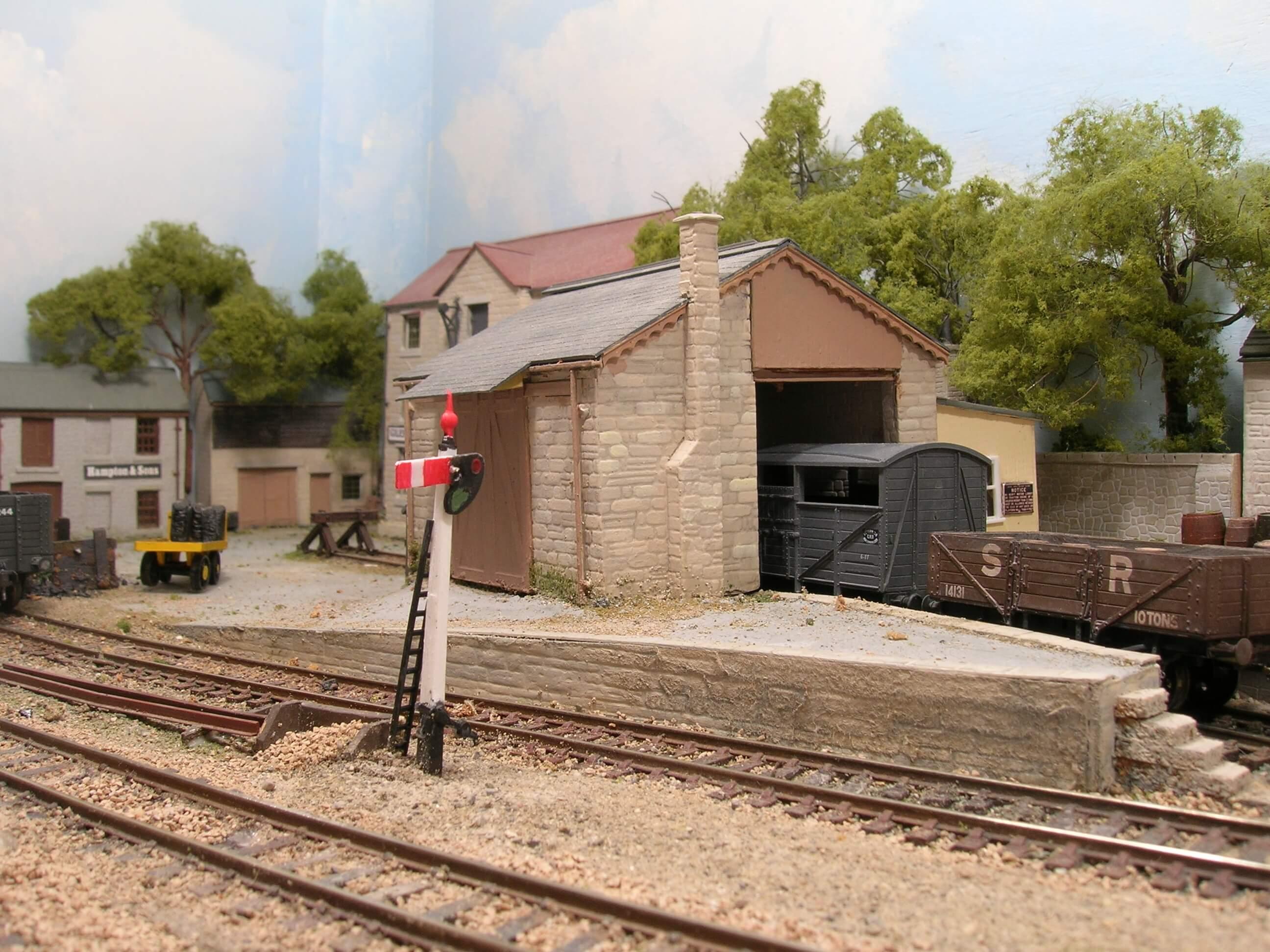 Hintock Construction Part Three - Scratch Building Model Railways