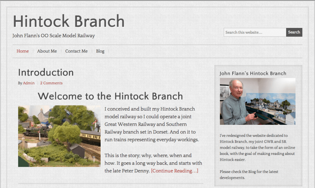 Wecome to the New Hintock Branch