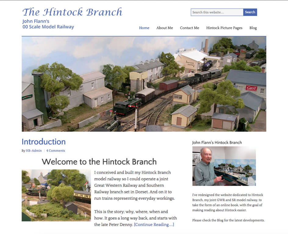 Hintock Branch Past and Present